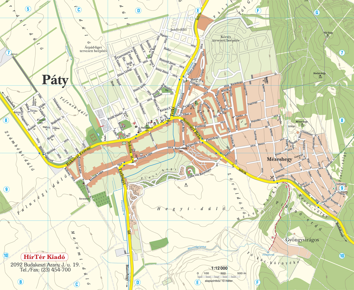 budakeszi térkép Térképek budakeszi térkép